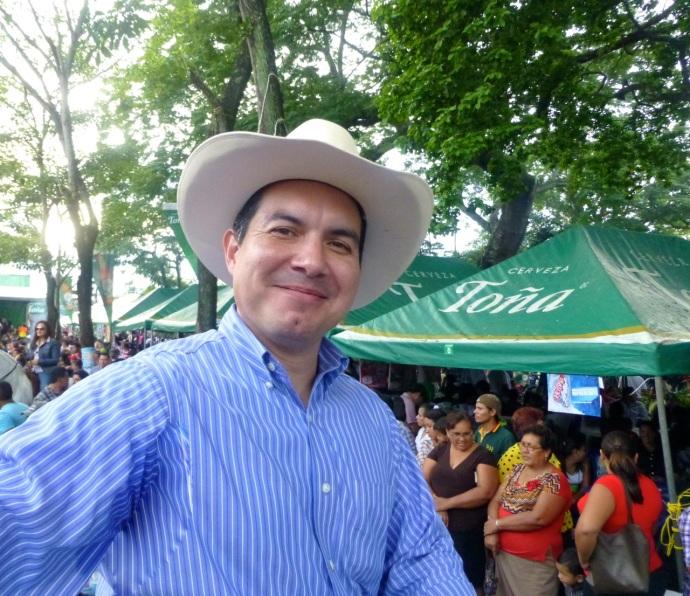 my debonair host Luis