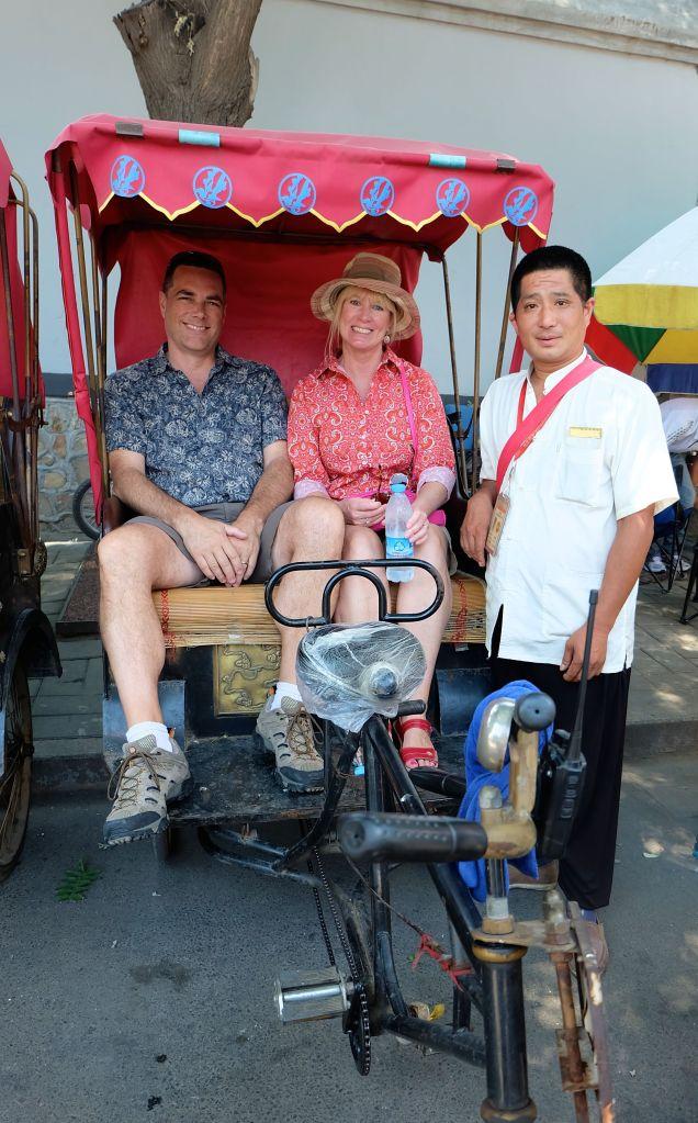 Rickshaw Hutong tour
