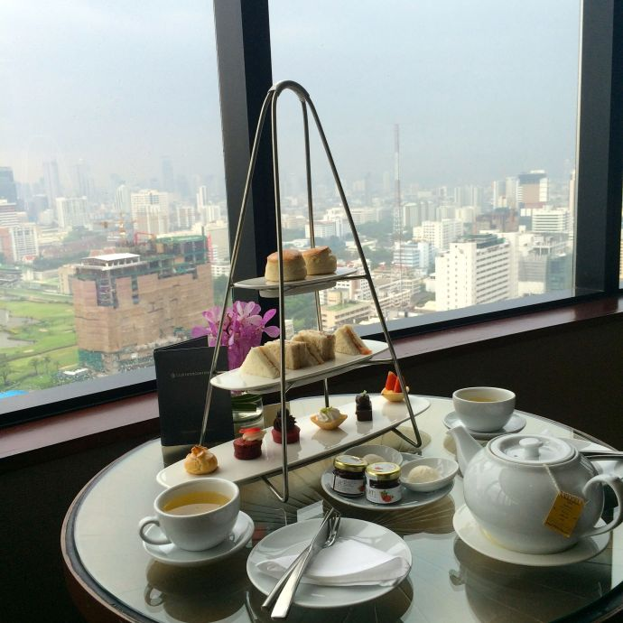 Tea-time at Intercontinental