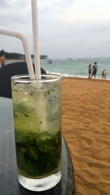 mojito on the beach